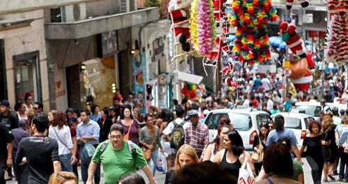 Rua 25 de março by Sérgio Júnior